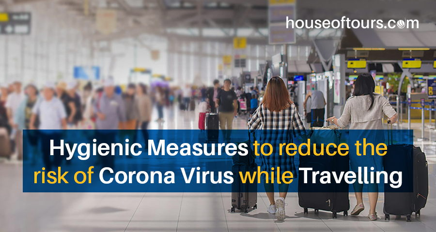Measures to reduce the risk of corona virus while travelling